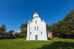 Peryn Chapel. Veliky Novgorod. Stock Images