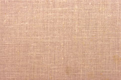 Perzik-gekleurde stoffentextuur Stock Afbeelding