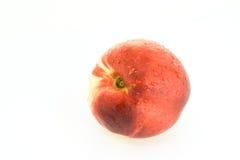 Perzik met scheuren Stock Foto's