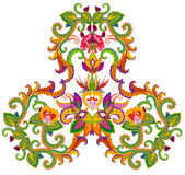 Perzisch dekenelement - Maangeboorte vector illustratie