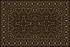 Perzisch gekleurd tapijt vector illustratie