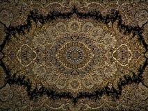 Perzisch het Tapijtpatroon van Royal Palace, Perzisch tapijt met een Ingewikkeld ontwerp stock fotografie
