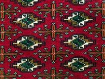 Perzisch tapijt Royalty-vrije Stock Afbeeldingen
