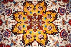Perzisch tapijt Stock Foto's