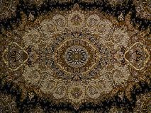 Perzisch tapijt, Perzisch het Tapijtpatroon van Royal Palace, Perzisch tapijt met een Ingewikkeld ontwerp stock afbeelding