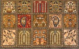 Perzisch Tapijt in winkelcentrum stock afbeeldingen