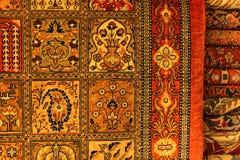 Perzisch Tapijt in winkelcentrum royalty-vrije stock afbeeldingen