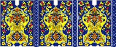 Perzische achtergrond Stock Afbeeldingen