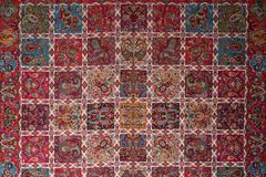 Perzische handwoven doek Royalty-vrije Stock Foto
