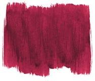 Perzische rode waterverf abstracte achtergrond, vlek, plonsverf, vlek, scheiding Uitstekende schilderijen voor ontwerp en decorat royalty-vrije illustratie