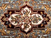 Perzische Tapijt Dichte Omhooggaand royalty-vrije stock foto's
