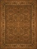 Perzische Tapijttextuur, abstract ornament Rond mandalapatroon, de Traditionele Textuur Van het Middenoosten van de Tapijtstof Tu Stock Foto