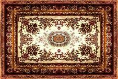 Perzische Tapijttextuur, abstract ornament Rond mandalapatroon, de Traditionele Textuur Van het Middenoosten van de Tapijtstof Tu Royalty-vrije Stock Afbeeldingen