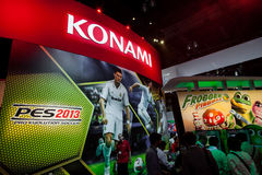 PES 2013 an E3 2012 Lizenzfreies Stockbild