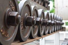 Pesa de gimnasia imagenes de archivo