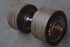 Pesa de gimnasia Fotografía de archivo libre de regalías