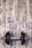 Pesa de gimnasia del hierro Imagen de archivo libre de regalías