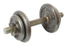 Pesa de gimnasia del hierro aislada Imagen de archivo