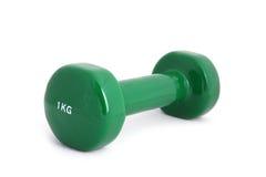 pesa de gimnasia revestida de goma de 1 kilogramo Fotografía de archivo