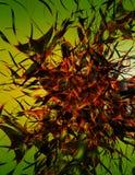 Pesadilla abstracta Fotografía de archivo libre de regalías