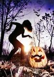Pesadilla de Halloween Imágenes de archivo libres de regalías