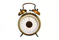 Pesage de l'horloge. Image libre de droits