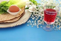Pesah świętowania pojęcie & x28; żydowski Passover holiday& x29; fotografia royalty free