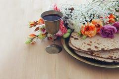 Pesah świętowania pojęcie & x28; żydowski Passover holiday& x29; obraz stock
