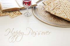 Pesah celebration concept & x28;jewish Passover holiday& x29;. Royalty Free Stock Photography