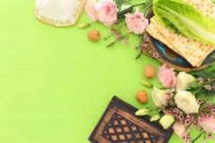 Pesah celebration concept jewish Passover holiday. royalty free stock image