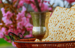 Pesah celebration concept jewish Passover holiday .Passover Haggadah Passover Tale Royalty Free Stock Photo