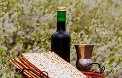 Pesah celebration concept jewish Passover holiday .Passover Haggadah Passover Tale Royalty Free Stock Photography