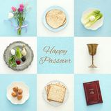 Pesah celebration concept & x28;jewish Passover holiday& x29; Stock Photos