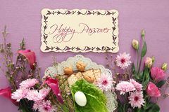 Pesah celebration concept & x28;jewish Passover holiday& x29;. Royalty Free Stock Image
