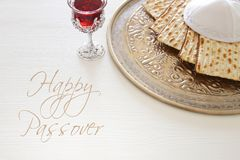 Pesah celebration concept & x28;jewish Passover holiday& x29;. Stock Photos