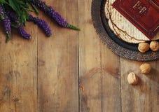 Pesah celebration concept & x28;jewish Passover holiday& x29; Stock Images