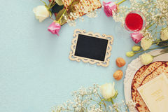 Pesah celebration concept & x28;jewish Passover holiday& x29;. Stock Image