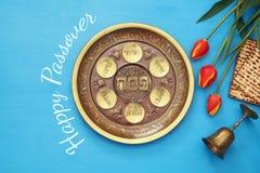 Pesah celebration concept & x28;jewish Passover holiday& x29;. Pesah celebration concept & x28;jewish Passover holiday& x29;. Traditional pesah plate Stock Photos