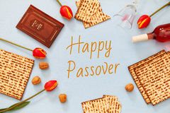 Pesah celebration concept & x28;jewish Passover holiday& x29; Stock Photography