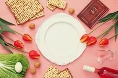 Pesah celebration concept & x28;jewish Passover holiday& x29; Stock Image