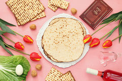 Pesah celebration concept & x28;jewish Passover holiday& x29; Royalty Free Stock Images
