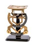 Pesalettere d'ottone d'annata per la pesatura delle lettere Fotografia Stock Libera da Diritti