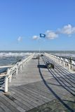 Pesaro, Adriatic coast Royalty Free Stock Photo