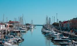 Free Pesaro, Italy: Boats Moored In The Port Of Pesaro Along The Foglia River Royalty Free Stock Photos - 206215138