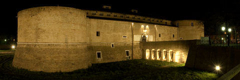 Pesaro - Rocca Costanza Royalty Free Stock Photography