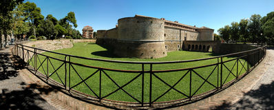 Pesaro - Rocca Costanza Stock Image