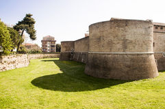 Pesaro Rocca Costanza Royalty Free Stock Images