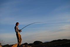 Pesca Foto de Stock Royalty Free