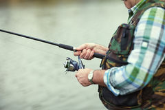 pesca Fotografie Stock