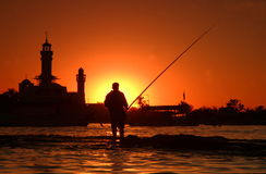Pesca Imagem de Stock Royalty Free